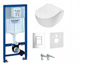 STELAŻ WC PODT. GROHE FRESH+ misa rimless Deante